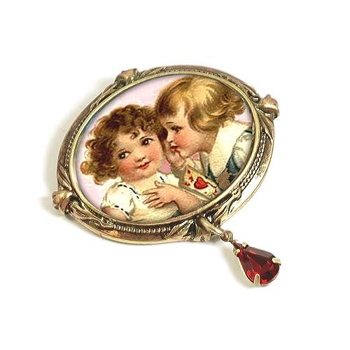 'Sweet Nothings' Valentine Pin