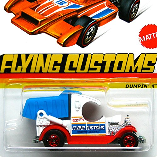 Hot Wheels 2013 Flying Customs Dumpin' A 1:64 Scale