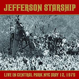 Live in Central Park NYC May 12, 1975. 2CD Set