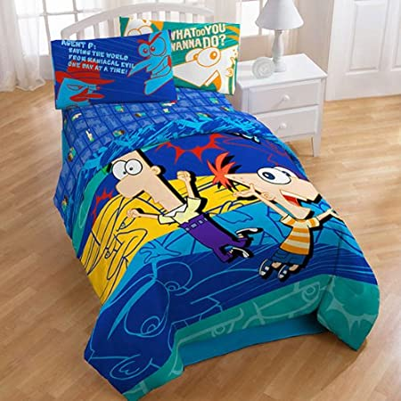 Phineas And Ferb Twin Bedding