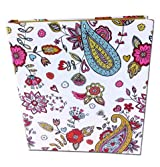 3 Ring bloom Fashion Binder 3-Ring Binder, 1 Inch Capacity, 8.5 x 11 Inches Hearts Design