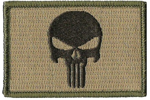 Review Punisher Tactical Patch - Multitan