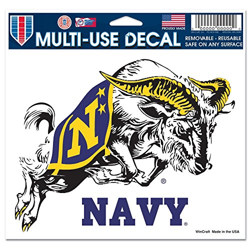 NCAA US Naval Academy Multi-Use Colored Decal, 5