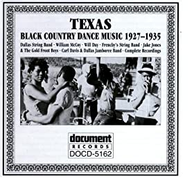 Various Texas Country Music Vol 2 1927 1937