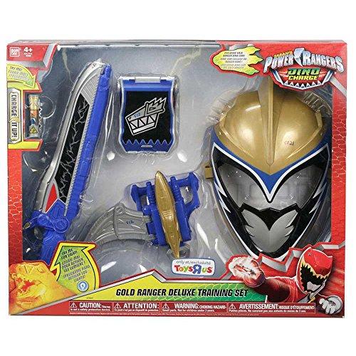 [Power Rangers Dino Charge Gold Ranger Deluxe Training Set] (Red Megaforce Power Ranger Costume)