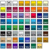 Oracal 651 - Ultimate 5ft Length Assortment - All 63 Colors Unbeatable Value (Color: 63 Assortment Lengths, Tamaño: 12