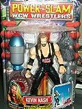 WCW POWER SLAM WRESTLERS- KEVIN NASH- MOST RARE WCW FIGURE EVER MADE