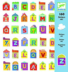 Djeco Letters Stickers