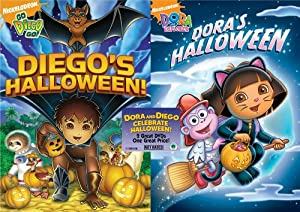 Amazon.com: Dora the Explorer: Dora's Halloween/Go Diego ...