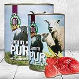 Bild: DOGREFORM Lamm pur 3x410g Nassfutter zum BARFen geeignet enthält fettarmes Muskelfleisch und ausgesuchte wertvolle Innereien Getreidefrei Glutenfrei Getreidefreies ideal bei Allergien