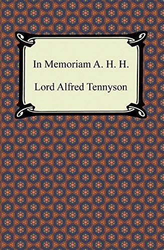 essays on in memoriam a.h.h
