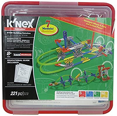 K'Nex INTRO TO SIMPLE MACHINES: WHEELS