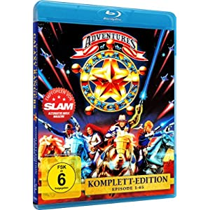 The Adventures of the Galaxy Rangers - Gesamtbox [Blu-ray] [Import allemand]