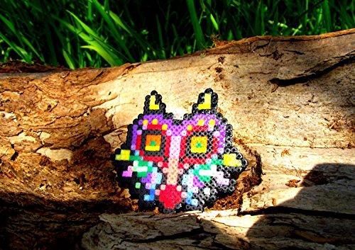 Anello portachiavi Majora's Mask de The Legend of Zelda Majora s mask , Skull kids • Hama Beads • Pixel/art • Perler beads