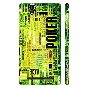 Sony Xperia T2 All-In! designer mobile hard shell case by Enthopia
