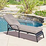 Adjustable Pool Chaise Lounge Chair Recliner Outdoor Patio Furniture Durable New