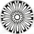 Autostyle PP 5257 Satz Radzierblenden Volante 17-Zoll, Silber/Schwarz von AutoStyle - Reifen Onlineshop