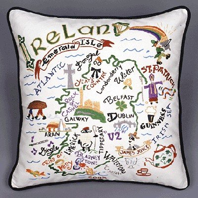 Catstudio Ireland Pillow - Geography Collection Home Décor 065(Cs)
