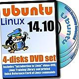 Ubuntu 15.04, 4-Disks DVD Installation and Reference Set