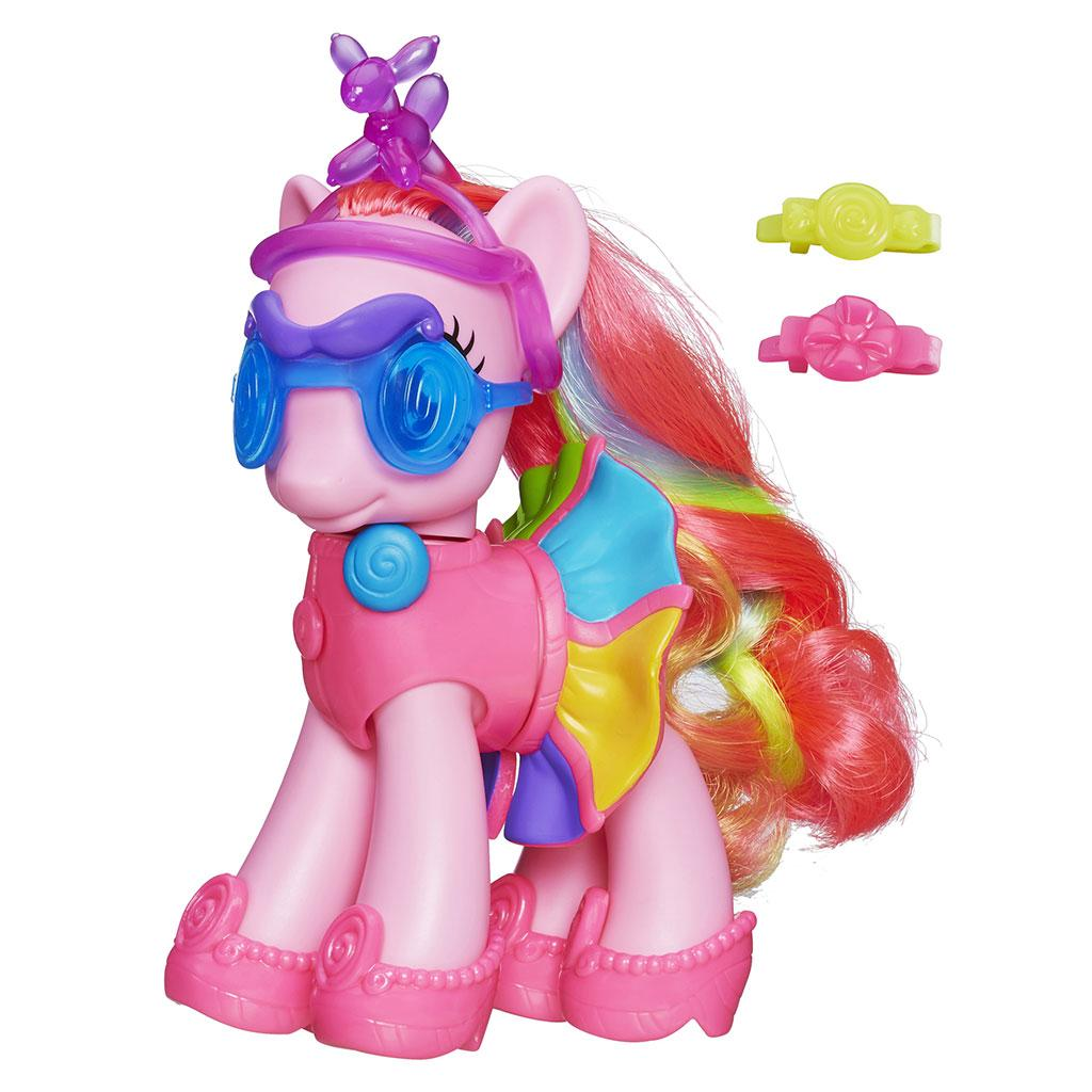 Amazon.com: My Little Pony Fashion Style Pinkie Pie Figure ...