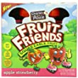 Fruit Friends Squeezable Fruit, Apple Strawberry, 3.2 Ounce (Pack of 32)
