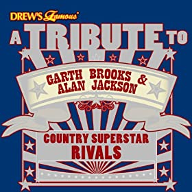 Tribute To Garth Brooks   Alan Jackson  Country Superstar Rivals