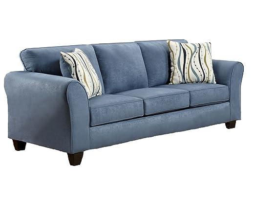 Chelsea Home Furniture Lehigh Sofa, Patriot Blue