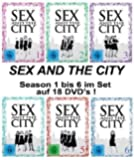 Sex and the City: Staffel/Season 1-6 (White Edition) [18 DVDs]