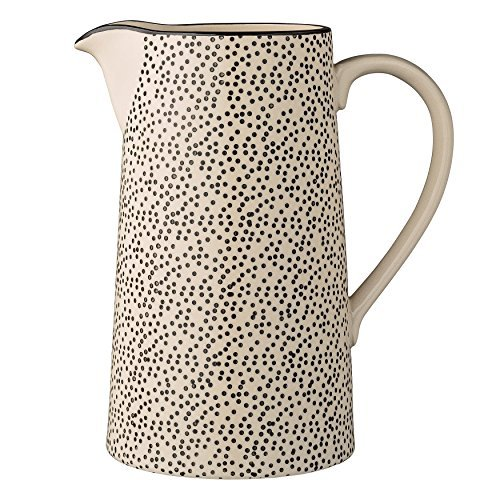 Bloomingville Ceramic Julie Water Pitcher, Multicolor by Bloomingville