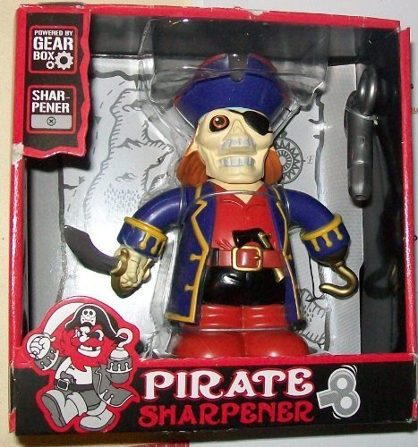 Toysmith Pirate Pencil Sharpener - 1
