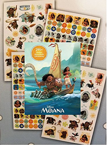 295 Disney Moana Stickers