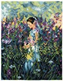 DMC Cross Stitch Kit - Expert - Girl Amongst The Willow Herb