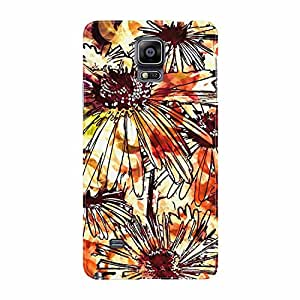 Fusion Gear Retro Flowers Case for Samsung Galaxy Note 4