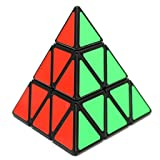Jopuzia Pyramid Speed Cube Puzzle Speed Cube Pyraminx Pyramid Magic Triangle Twisty Puzzle Toy for Intelligence Development (Triangle)