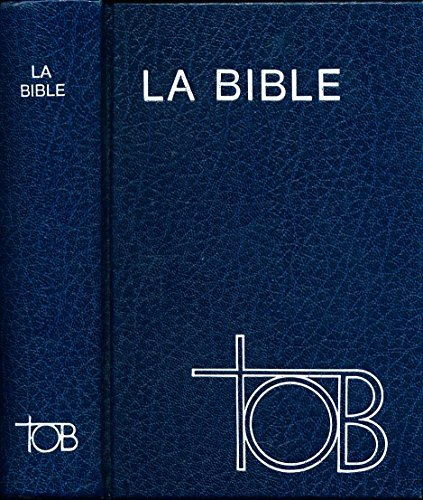 la bible tob en francais gratuit