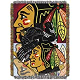 NHL Chicago Blackhawks Acrylic Tapestry Throw Blanket at Amazon.com