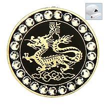 Bella Swarovski Crystal Golf Ball Marker & Hat Clip - Eastern Zodiac - Dragon