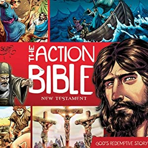 The Action Bible New Testament: God's Redemptive Story | [David C. Cook, Doug Mauss (editor)]