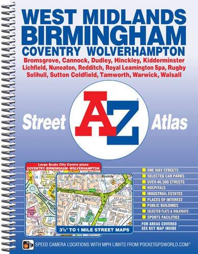 West Midlands Street Atlas (A-Z Street Atlas)