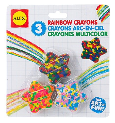 ALEX Toys Artist Studio Star Shaped Multi Color Crayons