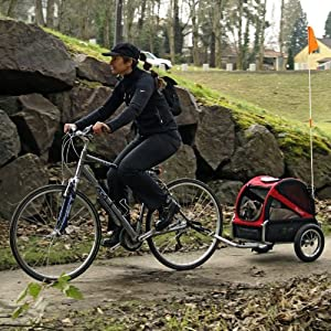 DoggyRide Mini Dog Bike Trailer by Dutch Dog Design