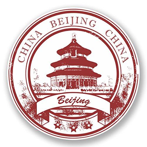 2-x-10cm-beijing-china-vinyl-decal-sticker-luggage-travel-tag-label-temple-5945-10cm-x-10cm