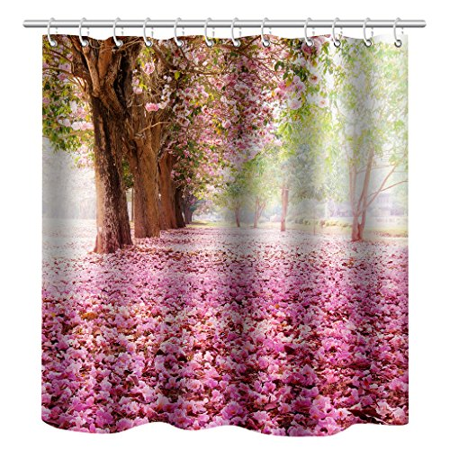 Waterproof Polyerster Shower Curtain Park Size Width X Height 72 80 Inches W H 180 By 200 Cm Home Fashion Best Fit For Gift