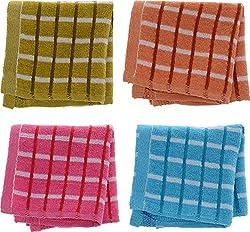 Jai Guruji Enterprises Women's Handkerchief (JG_0105, 12 Pieces)