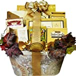 Old World Charm Gourmet Food and Snacks Gift Basket