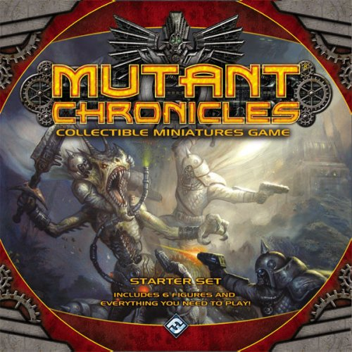 Buy Low Price Fantasy Flight Games Mutant Chronicles Collectible Miniatures Game Starter Figure (1589943058)