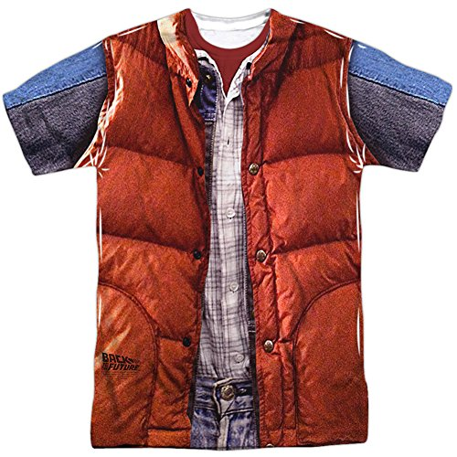 Back To The Future Marty McFly Vest Costume Adult Movie