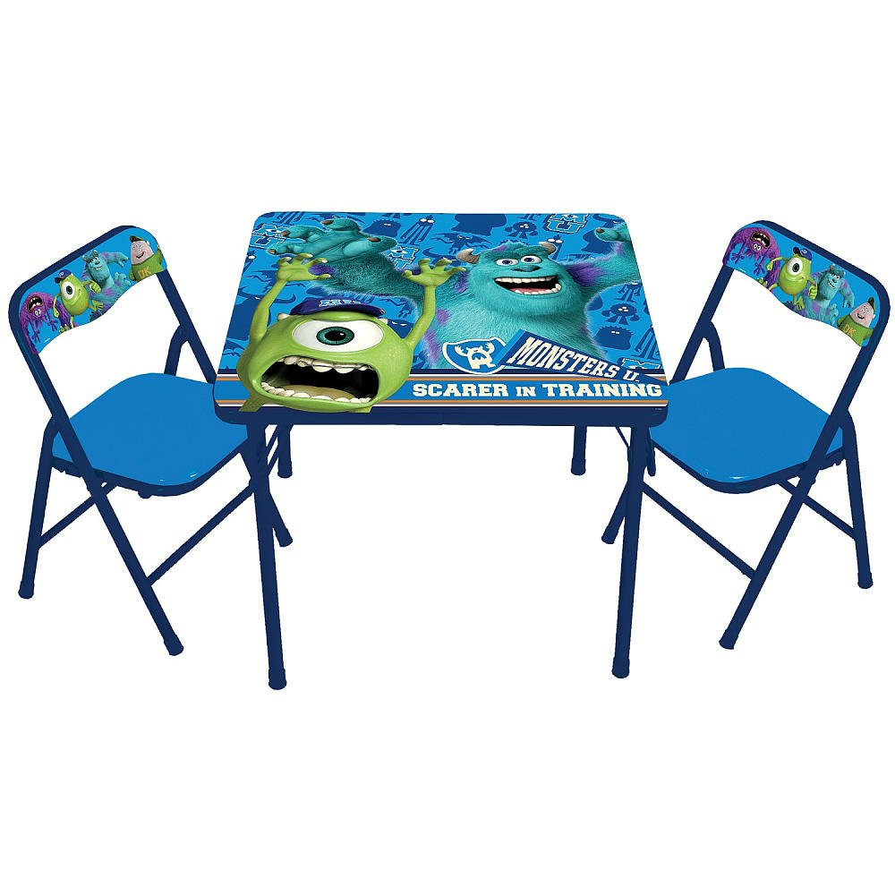 Monsters University Classic Activity Table and Chair Set