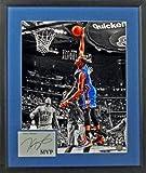 Oklahoma City Thunder Kevin Durant MVP Spotlight 16x20 Photograph (SGA Signature Series) Framed