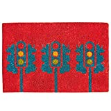 "India Circus City Lights Doormat - 16"" x 24"" x 1"", Multicolour"